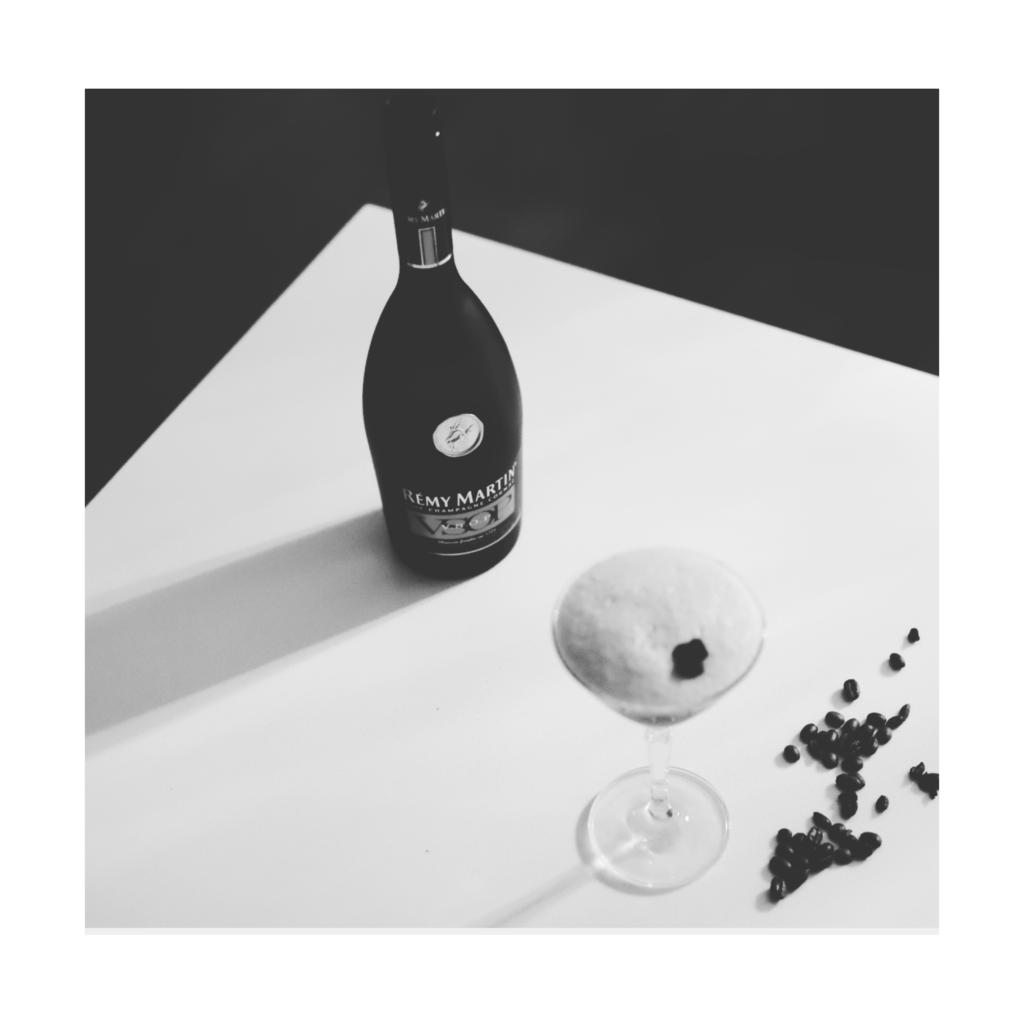 Cognac Espresso Martini, Liberica Cognac Espresso Martini, Remmy Martin and LeClair Organics coffee cocktail Canada