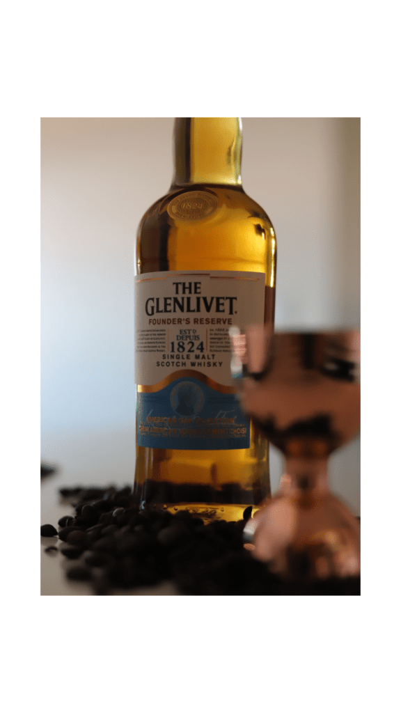 Liberica Scotch Coffee, Using The Glenlivet 12 Year old Single Malt Scotch Whisky coffee cocktails, liberica coffee