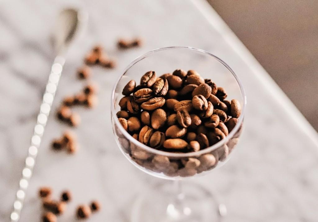 LeClair Organics Liberica Espresso Martini With Calvados, Rum and Yuzu syrup