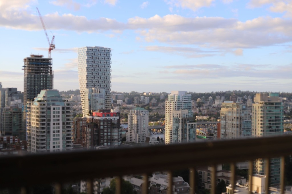 LeClair Organics coffee in Vancouver British Columbia, Scenic Shot of Vancouver Downtown