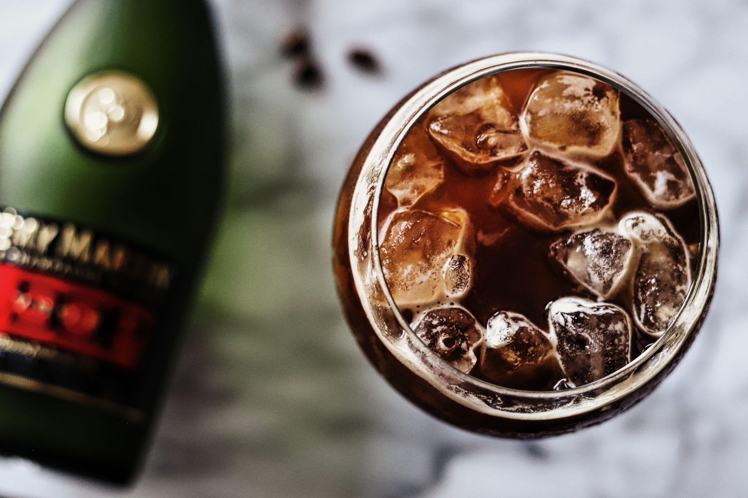LeClair Organics coffee roaster, liberica coffee, Iced cognac coffee cocktai