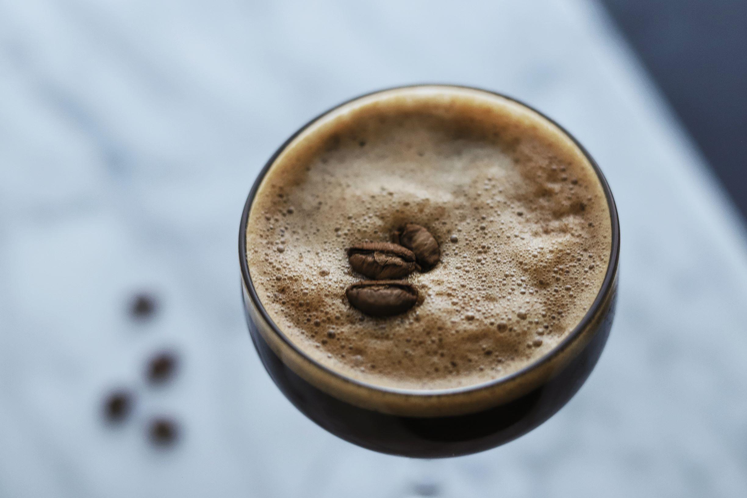 LeClair Organics coffee roaster, liberica coffee, amaro nonio quintessentia espresso martini 4