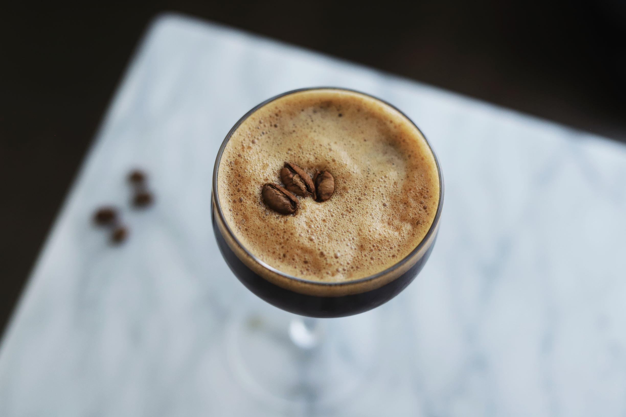 LeClair Organics coffee roaster, liberica coffee, amaro nonio quintessentia espresso martini